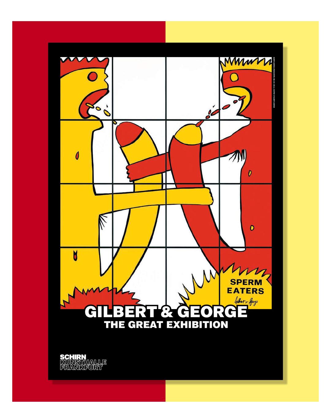KUNSTDRUCK GILBERT & GEORGE, SPERM EATERS, 1982