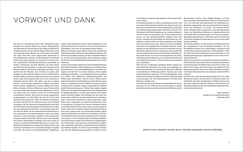 Katalog Erwin Olaf (Deutsch)