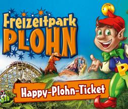 Happy-Plohn-Ticket 2021 zum Vorteilspreis* (Verlängerung mit Änderungen)