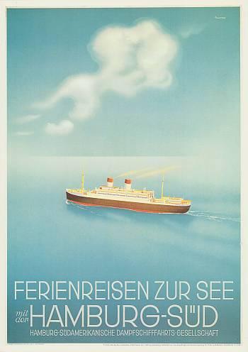 Poster Ferienreisen zur See