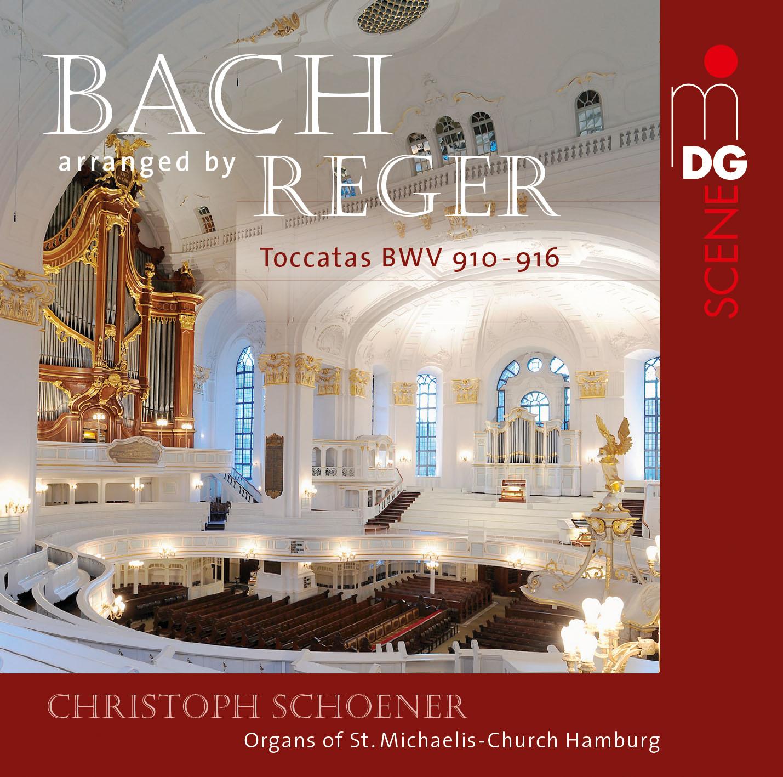 Johann Sebastian Bach: Toccaten für Orgel bearbeitet von Max Reger