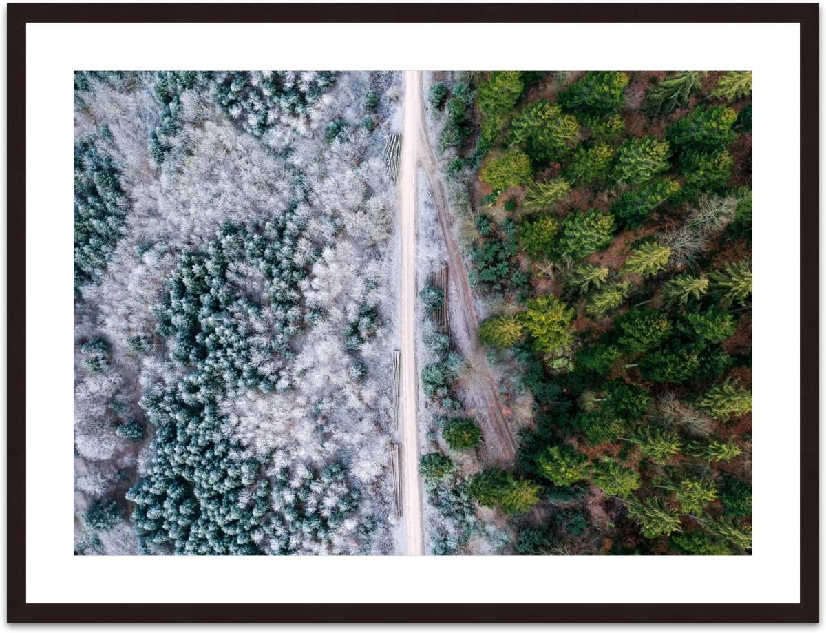 Nicolas Kamp - Natural Border I gerahmt
