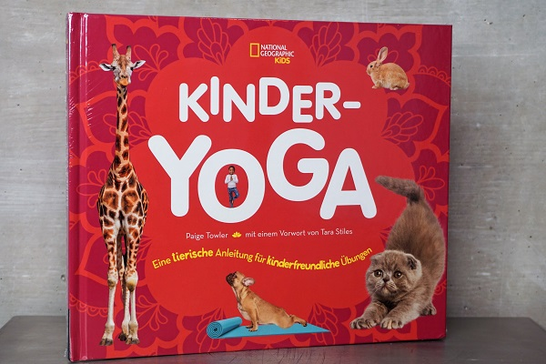"Buch ""Kinder-Yoga"""