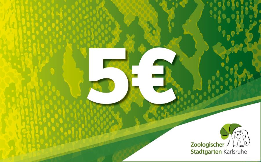 Gutschein 5,00 Euro
