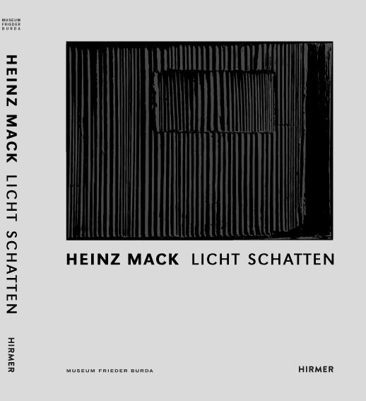 Ausstellungskatalog Heinz Mack Licht Schatten
