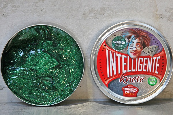 Intelligente Knete Smaragd