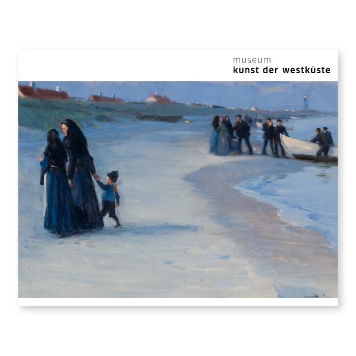 Peder Severin Krøyer, Ein weißes Boot am Strand. Heller Sommerabend