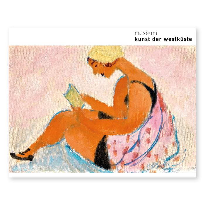 Sigrid Hjertén, Lesendes Mädchen