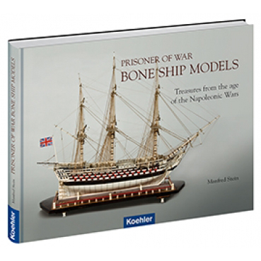 Prisoner of War Bone Ship Models; Stein