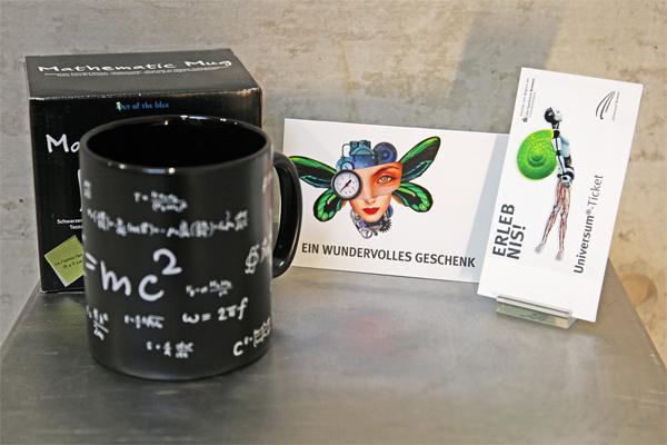Jumbo-Mathe-Tasse und Tageskarte Erwachsene