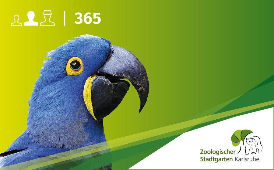 Jahreskarte Erwachsene ohne Artenschutz-Euro