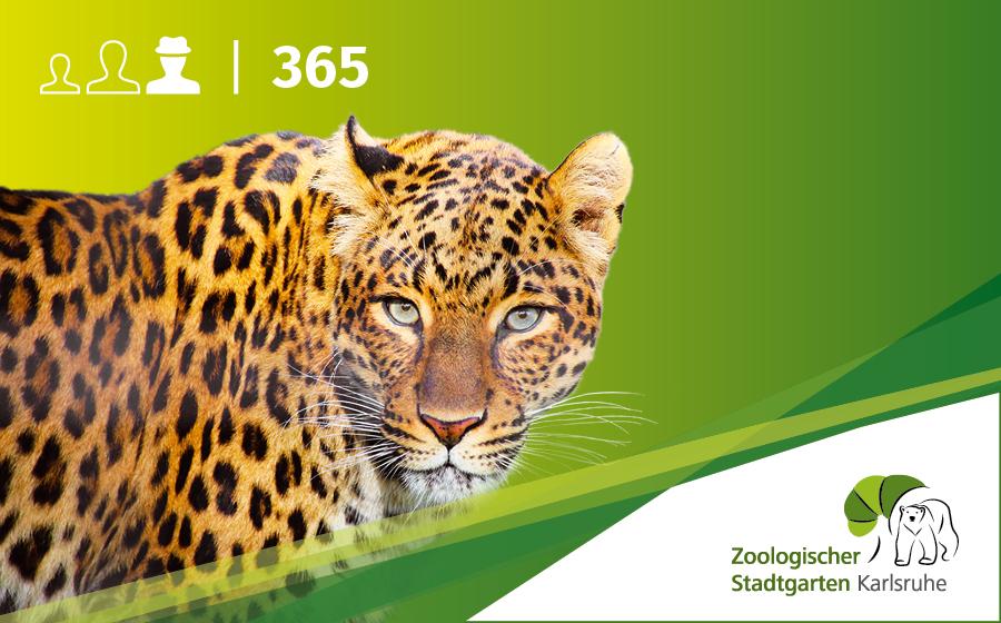Jahreskarte Ermäßigte ohne Artenschutz-Euro
