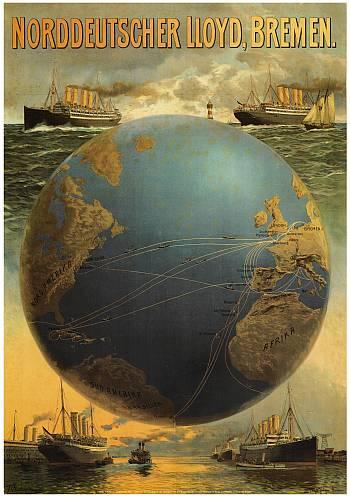 Poster Norddeutscher Lloyd