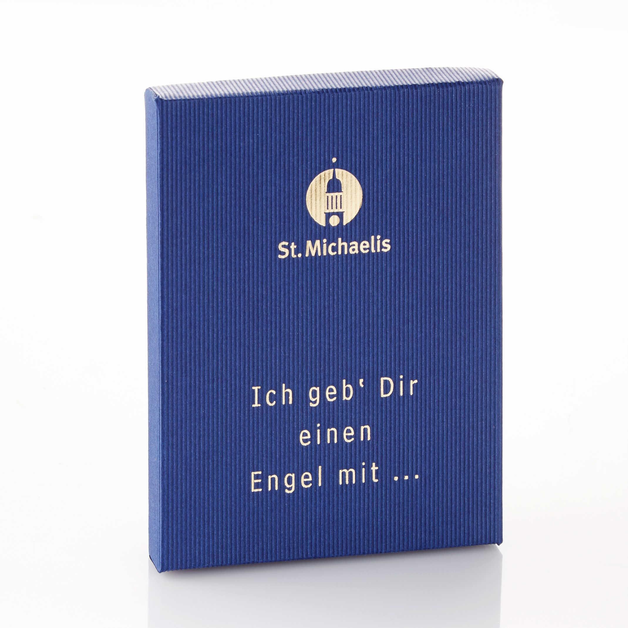 Geschenkbox Bronze-Engel
