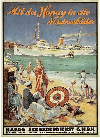 Poster Hapag Nordseebäder