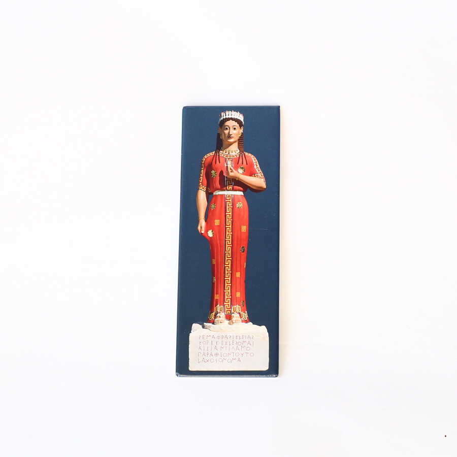 """Magnet """"Grabstatue der Phrasikleia"""""""