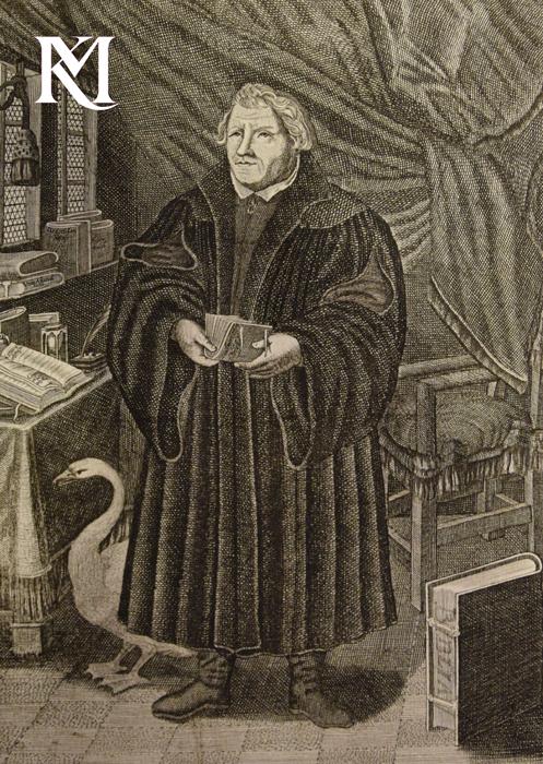 J.M. Roth, Luther-Portrait in Jubel-Gedächtnis zur Confessio Augusten, 1730