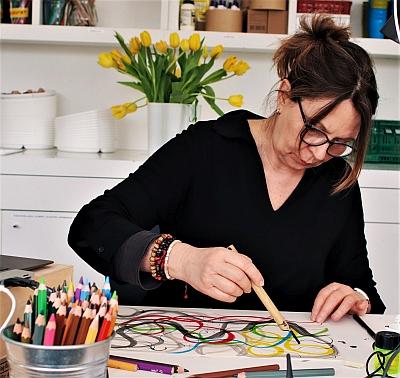 Online Zeichenworkshop mit Silke May, 11.06.2021