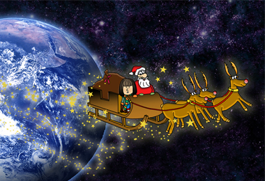 Sam und der Weihnachtsmann