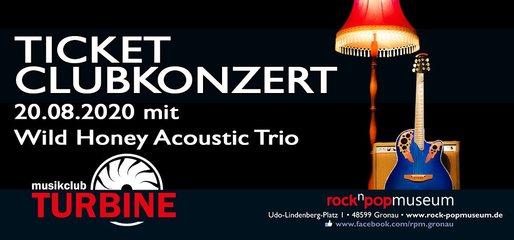 20.08.2020 - Wild Honey Acoustic Trio