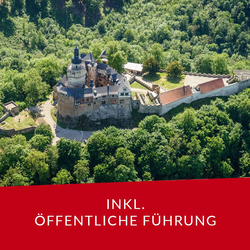 ZeitTicket Burg Falkenstein inkl. Führung