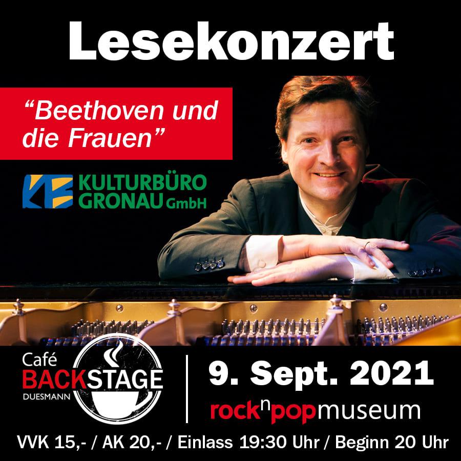 """09.09.2021 - Lesekonzert """"Beethoven und die Frauen"""""""