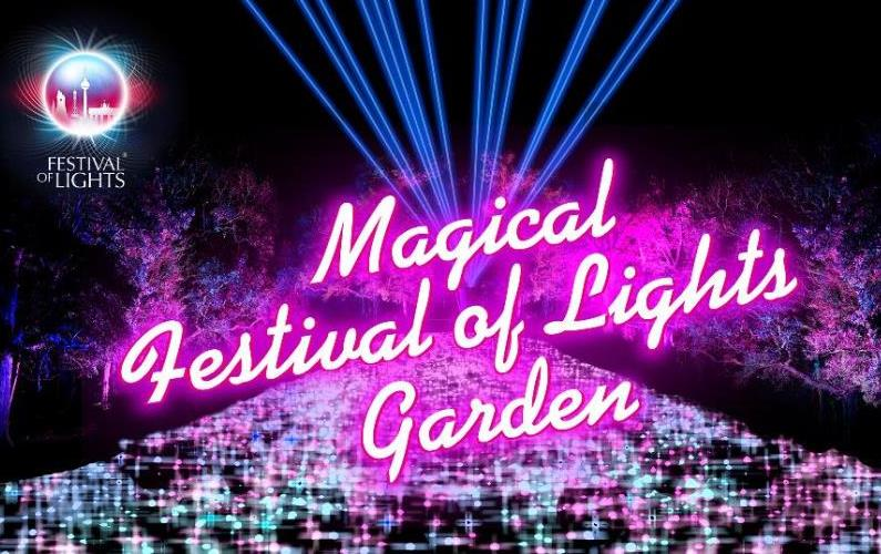 Magical Festival of Lights Garden