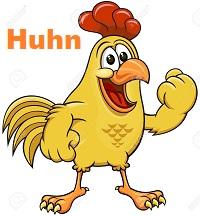 Besuch im Hühnerstall